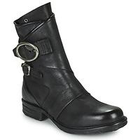 Sapatos Mulher Botas baixas Airstep / A.S.98 SAINTEC DOUBLE Preto