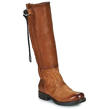 Sapatos Mulher Botas Airstep / A.S.98 SAINTEC HIGH Camel