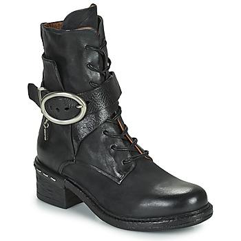 Sapatos Mulher Botins Airstep / A.S.98 NOVASUPER LACE Preto