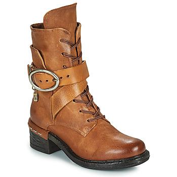 Sapatos Mulher Botins Airstep / A.S.98 NOVASUPER LACE Camel