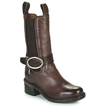 Sapatos Mulher Botins Airstep / A.S.98 NOVASUPER CHELS Castanho