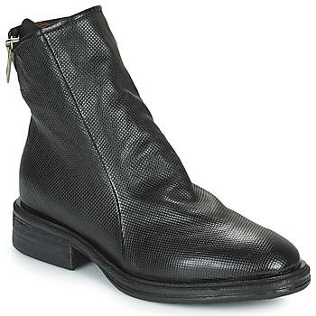 Sapatos Mulher Botas baixas Airstep / A.S.98 FLOWER ZIP Preto