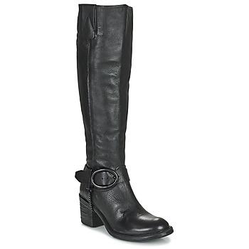 Sapatos Mulher Botas Airstep / A.S.98 JAMAL HIGH Preto