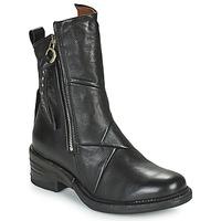 Sapatos Mulher Botas baixas Airstep / A.S.98 MIRACLE ZIP Preto