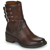 Sapatos Mulher Botas baixas Airstep / A.S.98 MIRACLE BUCKLE Bordô