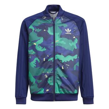 Textil Rapaz Casacos fato de treino adidas Originals HARRA Multicolor