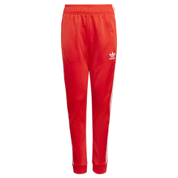 Textil Criança Calças de treino adidas Originals HANA Vermelho