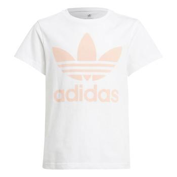 Textil Criança T-Shirt mangas curtas adidas Originals VAGUO Branco