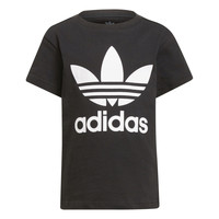 Textil Criança T-Shirt mangas curtas adidas Originals CHANTIS Preto