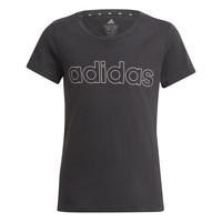 Textil Rapariga T-Shirt mangas curtas adidas Performance PLAKAT Preto