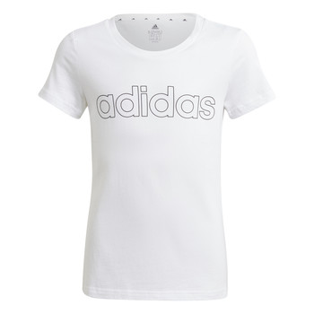 Textil Rapariga T-Shirt mangas curtas adidas Performance HOLLIA Branco