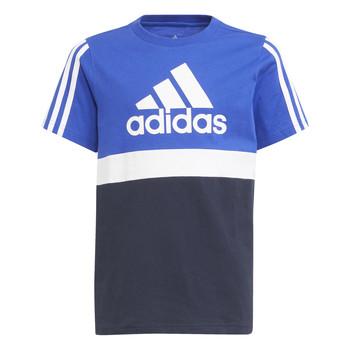 Textil Rapaz T-Shirt mangas curtas adidas Performance ABATIA Marinho / Preto