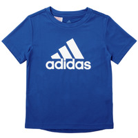 Textil Rapaz T-Shirt mangas curtas adidas Performance CLAUDIA Azul