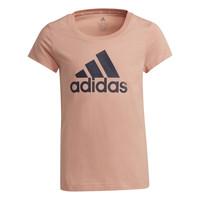 Textil Rapariga T-Shirt mangas curtas adidas Performance ALBERIC Rosa