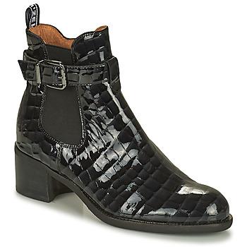 Sapatos Mulher Botas baixas Mam'Zelle LOPEZ Preto