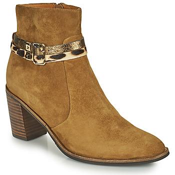 Sapatos Mulher Botins Mam'Zelle NESSY Camel