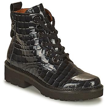 Sapatos Mulher Botas baixas Mam'Zelle RANGI Preto