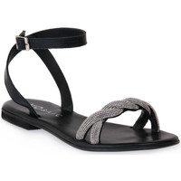 Sapatos Mulher Sandálias Mosaic NERO SHINE Nero