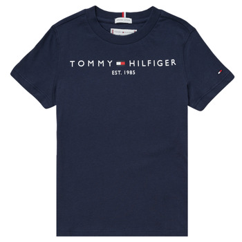 Textil Rapaz T-Shirt mangas curtas Tommy Hilfiger SELINERA Marinho
