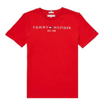 Textil Rapaz T-Shirt mangas curtas Tommy Hilfiger SELINERA Vermelho
