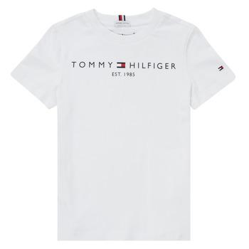 Textil Rapaz T-Shirt mangas curtas Tommy Hilfiger SELINERA Branco