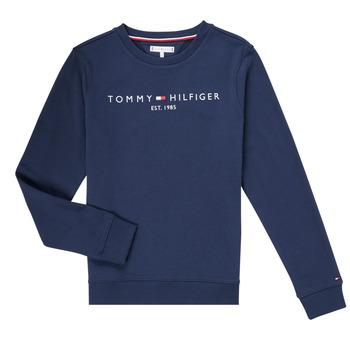Textil Rapaz Sweats Tommy Hilfiger TERRIS Marinho