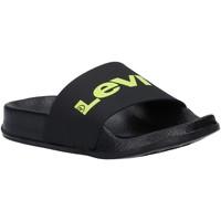 Sapatos Criança Chinelos Levi's VPOL0076S POOL Negro