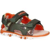 Sapatos Rapaz Sandálias Levi's VRIC0001S RICHMOND Verde