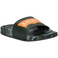 Sapatos Criança chinelos Levi's VPOL0071S POOL Verde