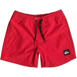 Textil Criança Fatos e shorts de banho Quiksilver Everyday 13 EQBJV03042 Vermelho