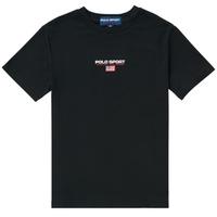 Textil Rapaz T-Shirt mangas curtas Polo Ralph Lauren ANNITA Preto