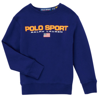 Textil Rapaz Sweats Polo Ralph Lauren SENINA Marinho