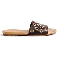 Sapatos Mulher Sandálias Porronet 2706 Castanho