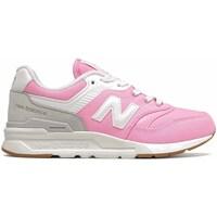Sapatos Rapariga Sapatilhas New Balance 997 Cor-de-rosa