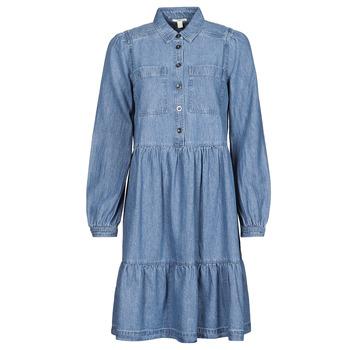 Textil Mulher Vestidos curtos Esprit COO DRESS Azul