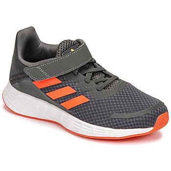 Sapatos Rapaz Sapatilhas de corrida adidas Performance DURAMO SL C Cinza / Vermelho