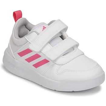 Sapatos Rapariga Sapatilhas adidas Performance TENSAUR C Branco / Rosa
