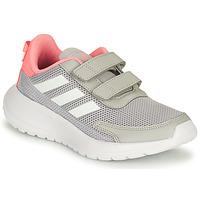 Sapatos Rapariga Sapatilhas de corrida adidas Performance TENSAUR RUN C Cinza / Rosa