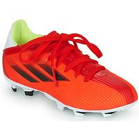 Sapatos Criança Chuteiras adidas Performance X SPEEDFLOW.3 FG J Vermelho