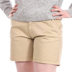 Textil Mulher Shorts / Bermudas Lee Cooper  Bege