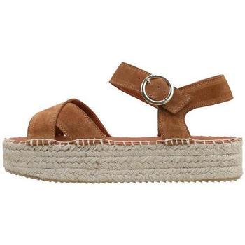 Sapatos Mulher Sandálias Senses & Shoes  Castanho