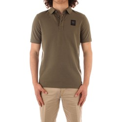 Textil Homem Polos mangas curta Blauer 21SBLUT02329 Verde