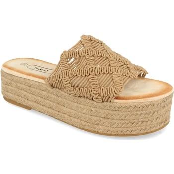 Sapatos Mulher Chinelos H&d YZ19-311 Marron