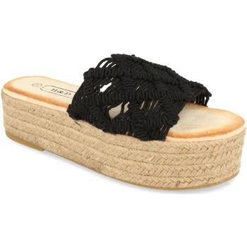 Sapatos Mulher Chinelos H&d YZ19-311 Negro