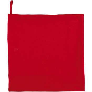 Casa Toalha e luva de banho Sols ATOLL 70 ROJO Rojo