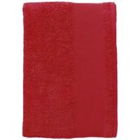 Casa Toalha e luva de banho Sols BAYSIDE 100 Rojo Rojo