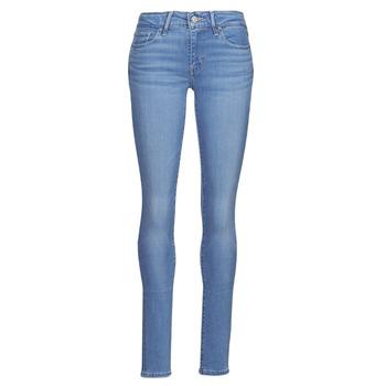 Textil Mulher Gangas Skinny Levi's 711 SKINNY Azul