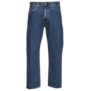 Textil Homem Calças Jeans Levi's 551Z STRAIGHT CROP Azul