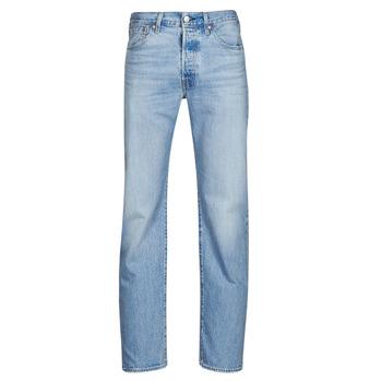 Textil Homem Calças Jeans Levi's 501 LEVI'S ORIGINAL Azul