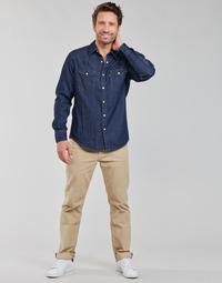 Textil Homem Calças Levi's 512 SLIM Bege